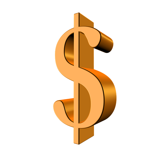 gold dollar sign png